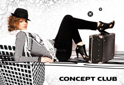 ConceptClub.ru предлагает огромные скидки и акции! Так же есть возможность использовать купоны и промокоды ConceptClub.ru. Бесплатные купоны Концепт Клаб!