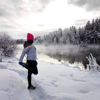 как бегать зимой, зимняя экипировка для бега, где бегать зимой, Юлия Кобелева, одежда для бега зимой