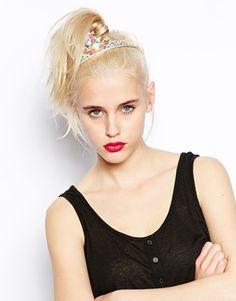 модные тренды весна-лето 2016, модный тренд - диадема