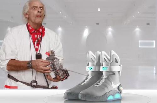 самозашнуровывающиеся кроссовки Nike Mag, Иркутские магазины