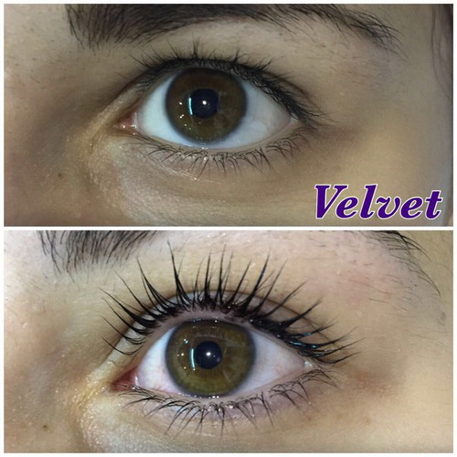 реконструкция бровей, реконструкция ресниц, Velvet for lashes & brows