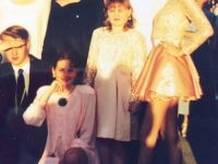выпускной, стиль 80х, стиль 90х, выпускные платья