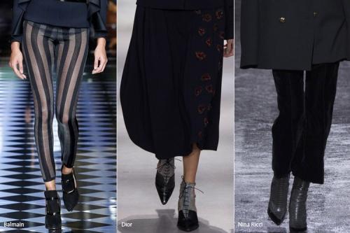 модная обувь, обувь осень 2016, модные зимние сапоги, купить туфли в Иркутске, модные тренды осень/зима 2016-17