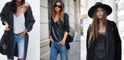 бельевой стиль, с чем носить платье-комбинацию, осень-зима 2016/17, модные тенденции