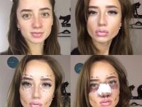 макияж, модный макияж, хеллоуин, создание образа, визажист иркутск