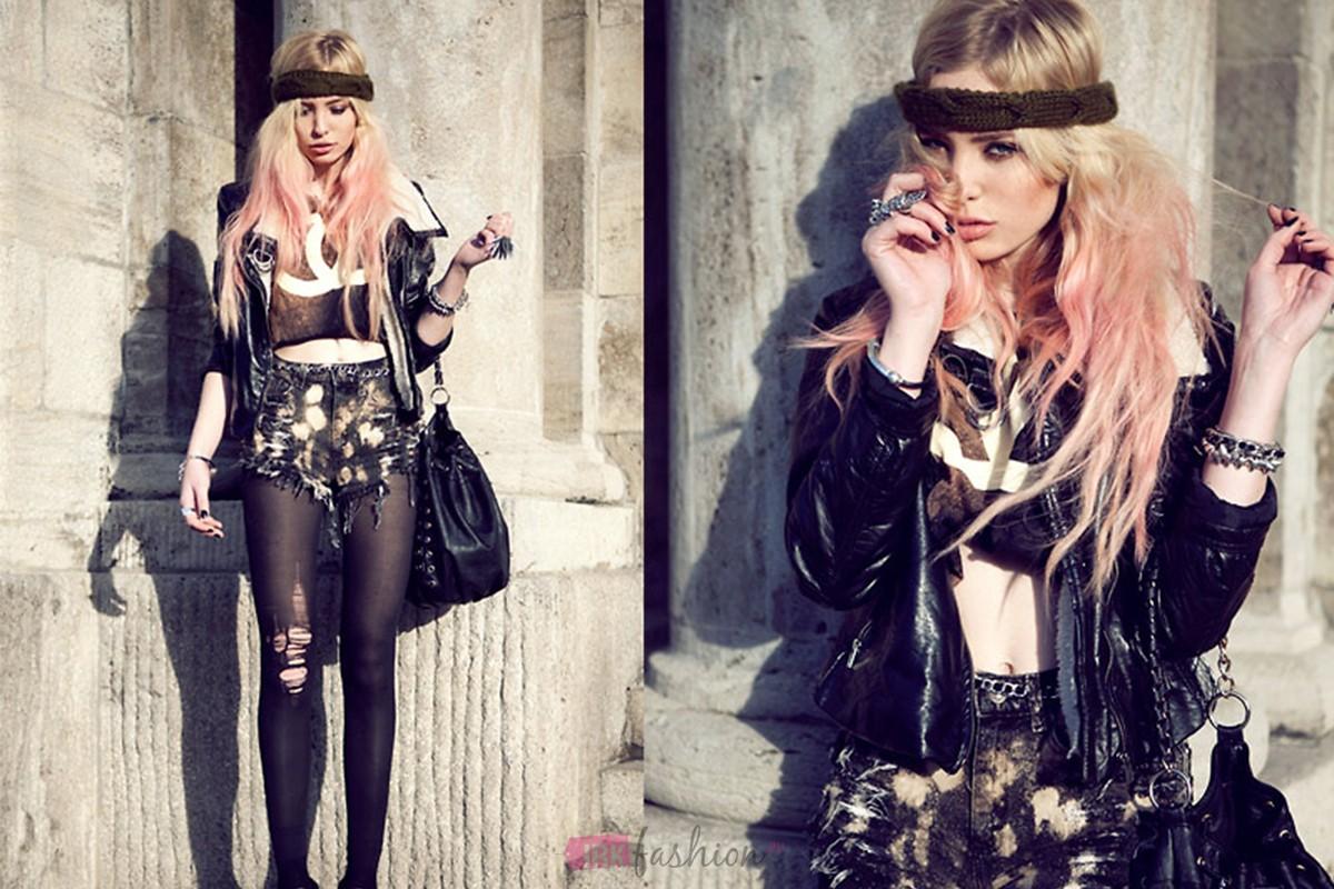 Как создать образ девушки в стиле рок - Мария Новикова