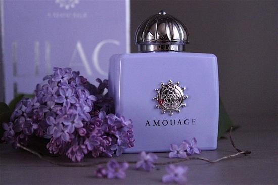 фортуна Плаза Иркутск, Галерея высокой парфюмерии, селективная парфюмерия купить в иркутске, нишевая парфюмерия, амуаж, Amouage Lilac Love