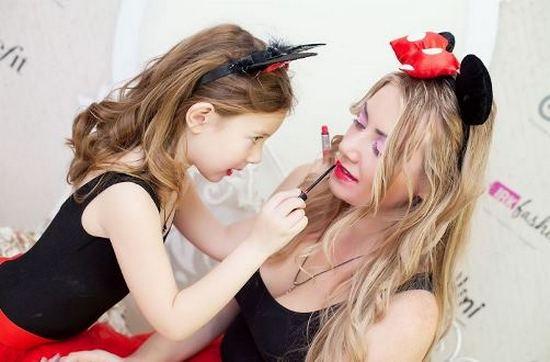 иркутск, дочки-матери модный макияж, конкурс, кастинг, иркфэшн, урьяж косметика, Gulliver иркутск, студия надежды гомбрайх, La scene иркутск, магазин гулливер иркутск, ля сцен иркутск,
