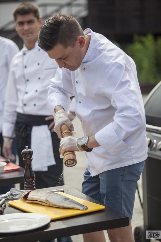 Кулинарное шоу, Grill Fest, Байкальский горнолыжный курорт «Гора Соболиная», приготовление еды, шашлык, иркутск, байкальск