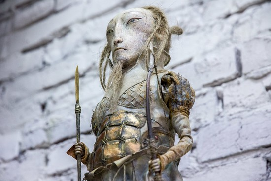 галерея бронштейна иркутск, даши намдаков, куклы намдаковых, выставка ульгер питер